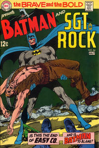 Cover Thumbnail for The Brave and the Bold (DC, 1955 series) #84