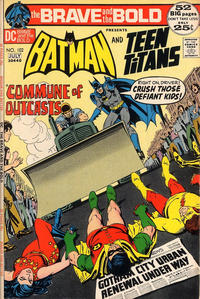 Cover Thumbnail for The Brave and the Bold (DC, 1955 series) #102