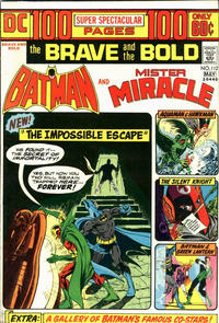 Cover Thumbnail for The Brave and the Bold (DC, 1955 series) #112