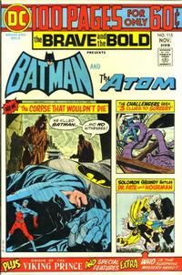 Cover Thumbnail for The Brave and the Bold (DC, 1955 series) #115