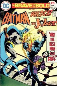 Cover Thumbnail for The Brave and the Bold (DC, 1955 series) #118