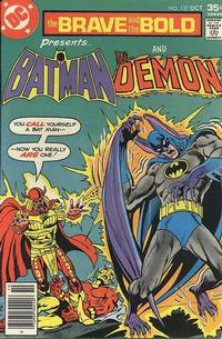Cover Thumbnail for The Brave and the Bold (DC, 1955 series) #137