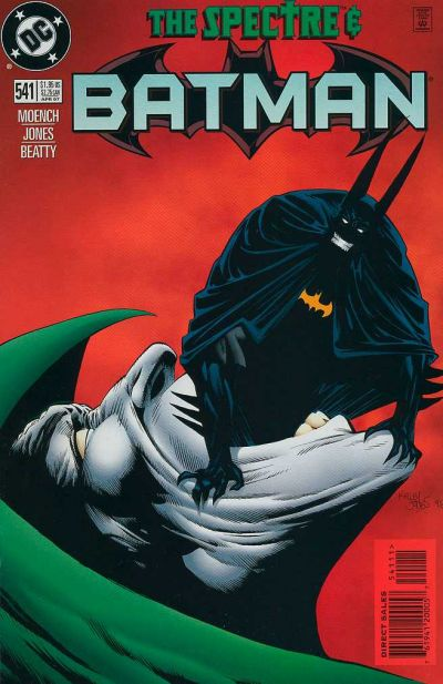 Cover for Batman (DC, 1940 series) #541