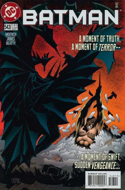 Cover for Batman (DC, 1940 series) #543