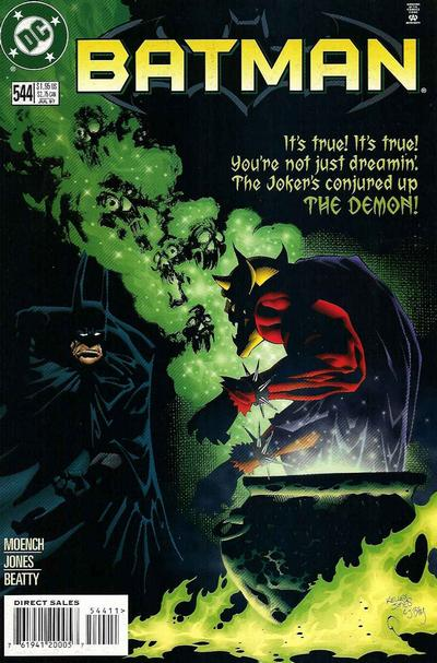 Cover for Batman (DC, 1940 series) #544