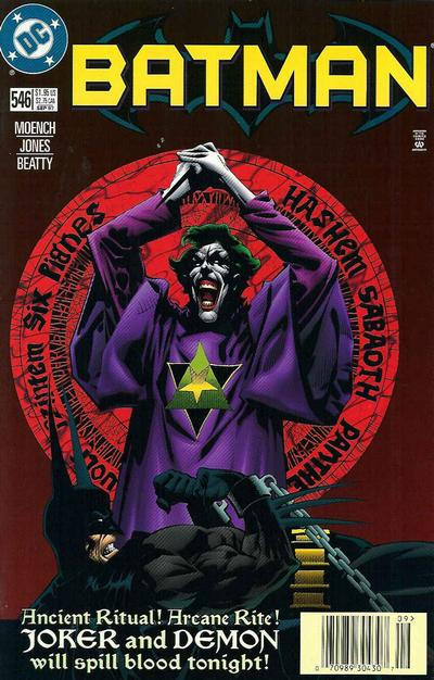 Cover for Batman (DC, 1940 series) #546 [Direct]
