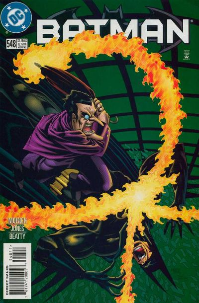 Cover for Batman (DC, 1940 series) #548