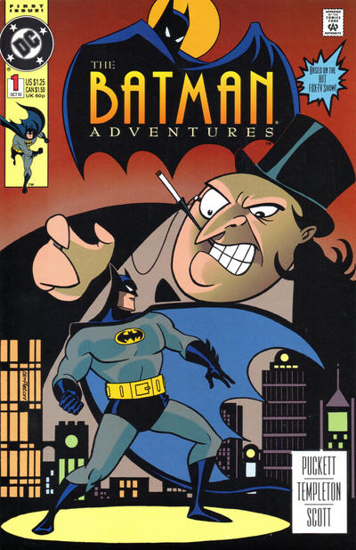 Cover for The Batman Adventures (DC, 1992 series) #1