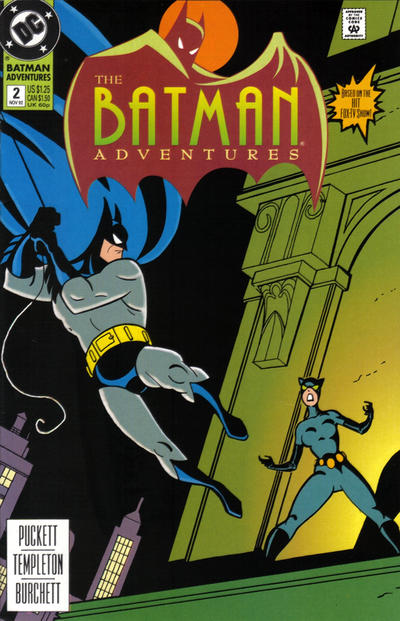 Cover for The Batman Adventures (DC, 1992 series) #2