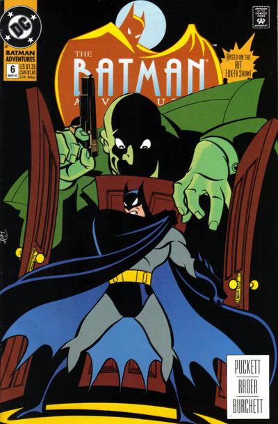 Cover for The Batman Adventures (DC, 1992 series) #6