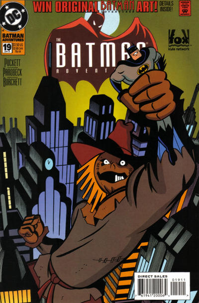 Cover for The Batman Adventures (DC, 1992 series) #19