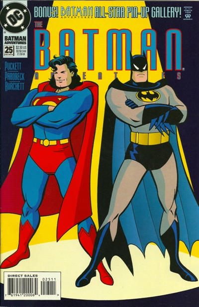 Cover for The Batman Adventures (DC, 1992 series) #25
