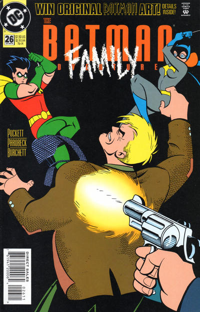 Cover for The Batman Adventures (DC, 1992 series) #26