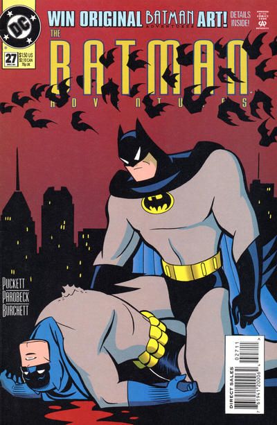 Cover for The Batman Adventures (DC, 1992 series) #27