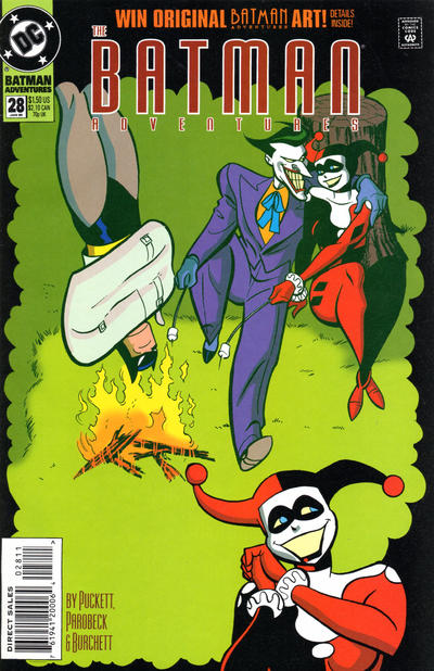 Cover for The Batman Adventures (DC, 1992 series) #28