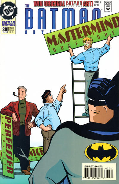 Cover for The Batman Adventures (DC, 1992 series) #30