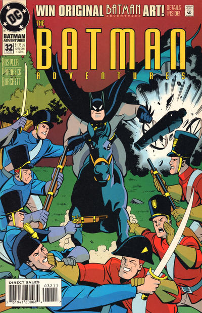 Cover for The Batman Adventures (DC, 1992 series) #32