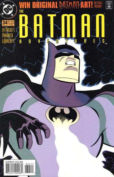 Cover for The Batman Adventures (DC, 1992 series) #34