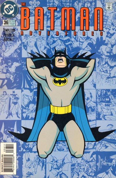 Cover for The Batman Adventures (DC, 1992 series) #36
