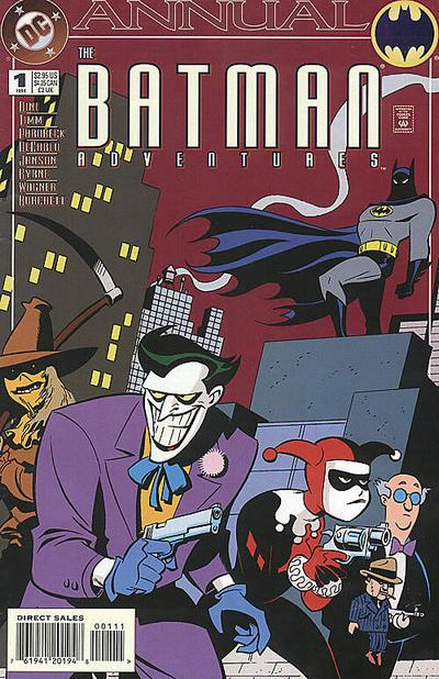 Cover for The Batman Adventures Annual (DC, 1994 series) #1 [Direct Sales]