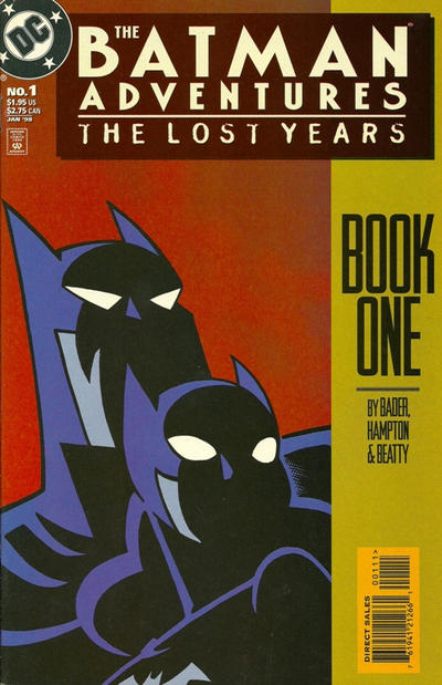 Cover for The Batman Adventures: The Lost Years (DC, 1998 series) #1