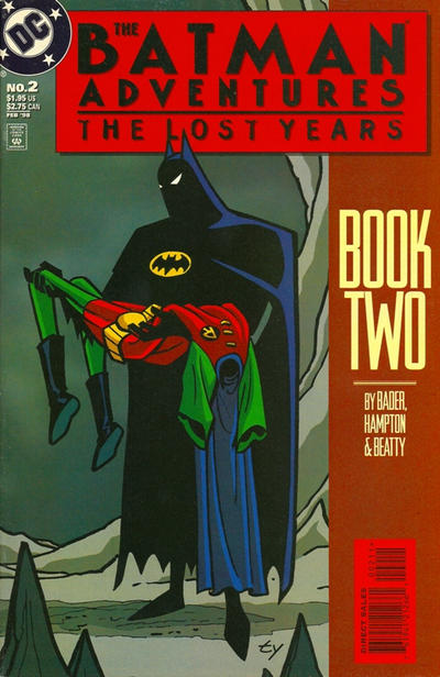 Cover for The Batman Adventures: The Lost Years (DC, 1998 series) #2