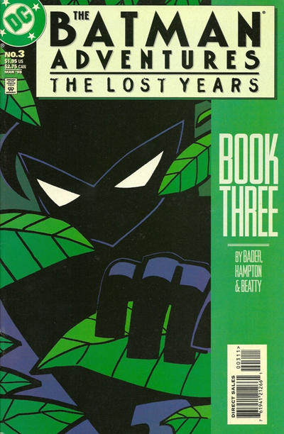 Cover for The Batman Adventures: The Lost Years (DC, 1998 series) #3