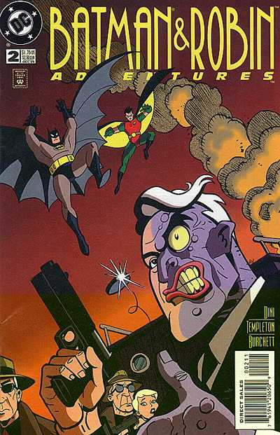 Cover for The Batman and Robin Adventures (DC, 1995 series) #2