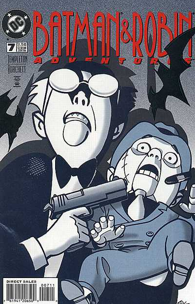 Cover for The Batman and Robin Adventures (DC, 1995 series) #7