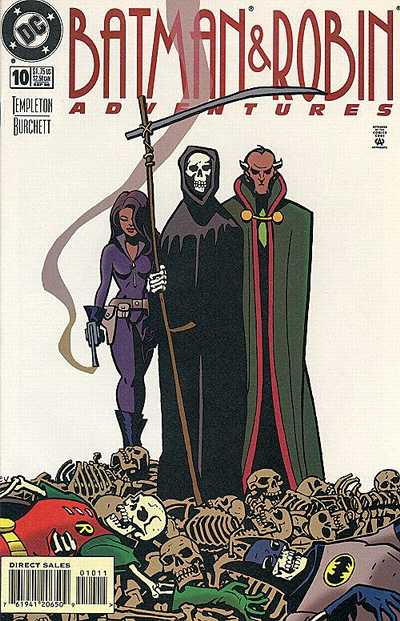 Cover for The Batman and Robin Adventures (DC, 1995 series) #10