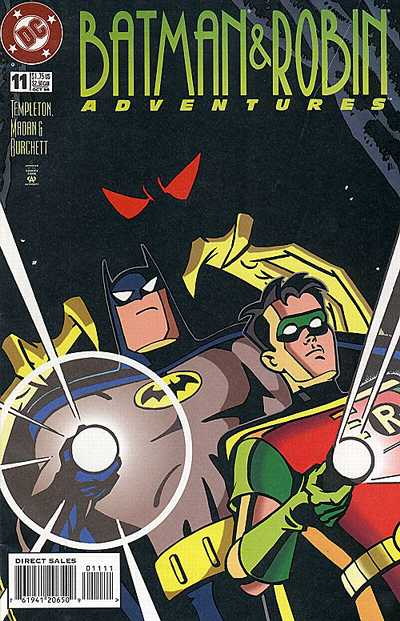 Cover for The Batman and Robin Adventures (DC, 1995 series) #11