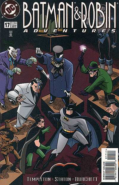 Cover for The Batman and Robin Adventures (DC, 1995 series) #17