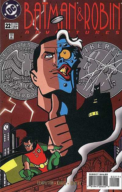 Cover for The Batman and Robin Adventures (DC, 1995 series) #22