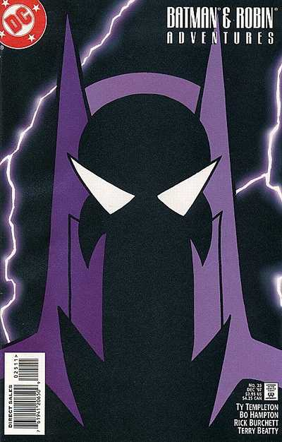 Cover for The Batman and Robin Adventures (DC, 1995 series) #25