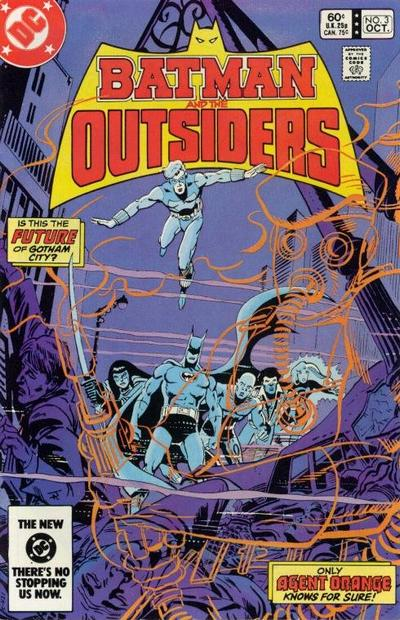 Cover for Batman and the Outsiders (DC, 1983 series) #3 [Direct Edition]