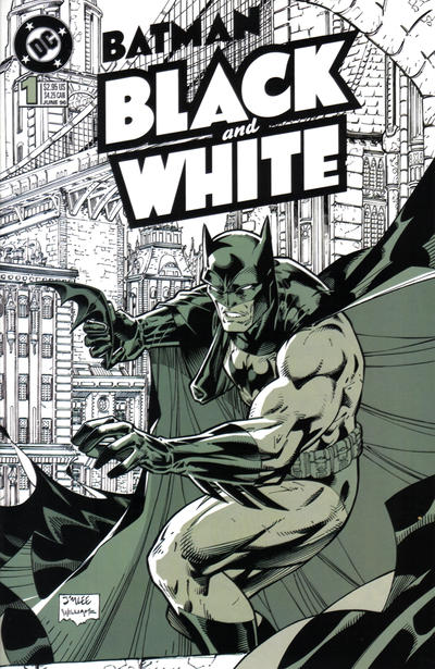 Cover for Batman Black and White (DC, 1996 series) #1