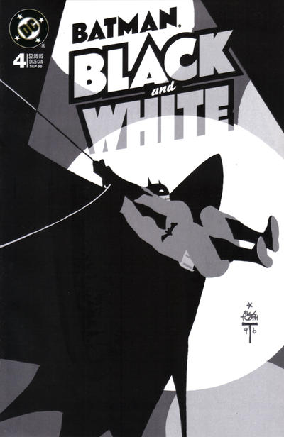 Cover for Batman Black and White (DC, 1996 series) #4