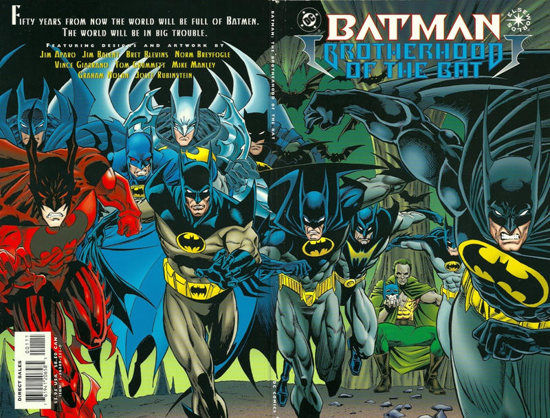 Cover for Batman: Brotherhood of the Bat (DC, 1995 series)