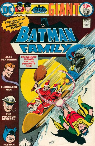 Cover for Batman Family (DC, 1975 series) #4