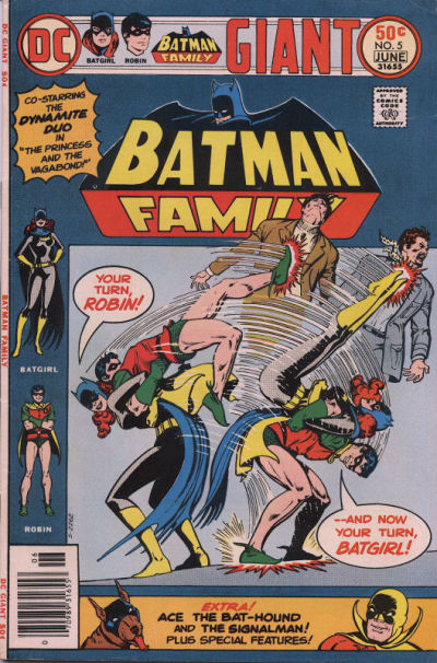 Cover for Batman Family (DC, 1975 series) #5