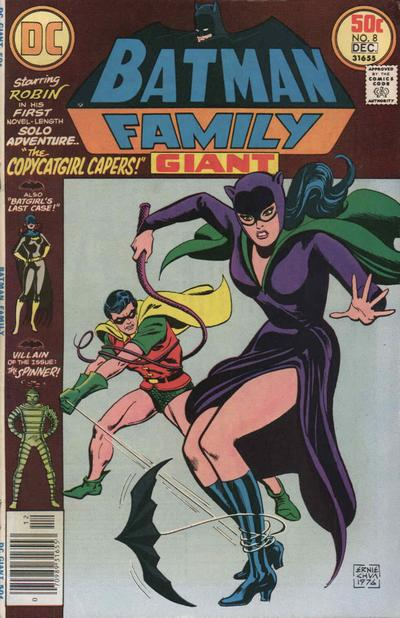 Cover for Batman Family (DC, 1975 series) #8