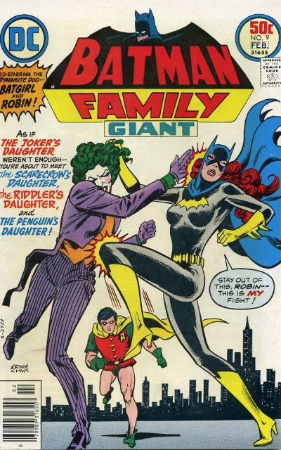 Cover for Batman Family (DC, 1975 series) #9