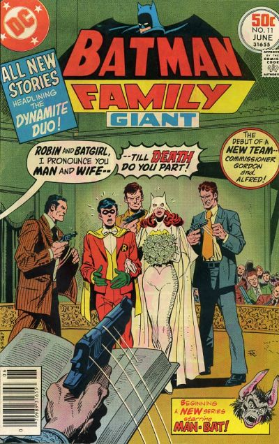 Cover for Batman Family (DC, 1975 series) #11