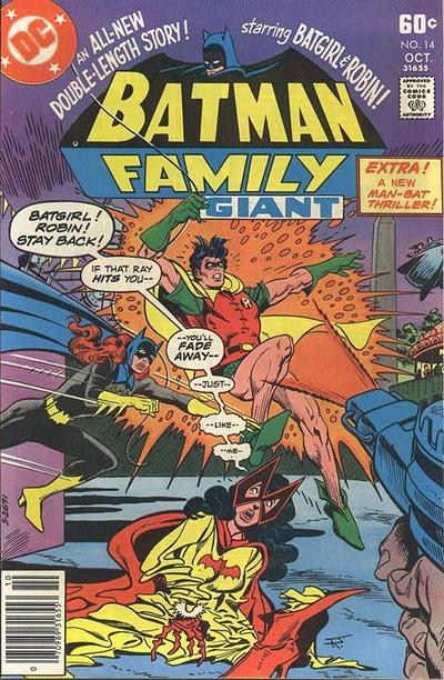 Cover for Batman Family (DC, 1975 series) #14