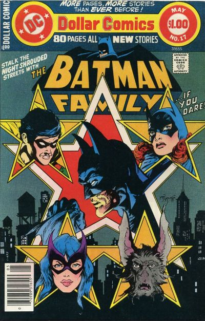 Cover for Batman Family (DC, 1975 series) #17