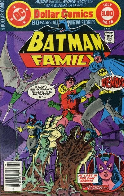 Cover for Batman Family (DC, 1975 series) #18