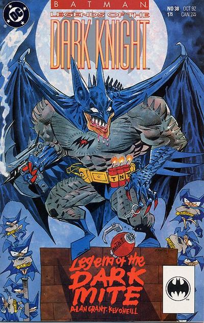 Cover for Batman: Legends of the Dark Knight (DC, 1992 series) #38