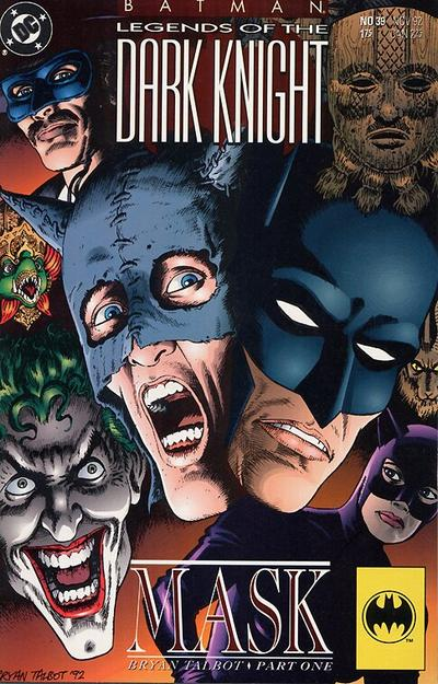 Cover for Batman: Legends of the Dark Knight (DC, 1992 series) #39