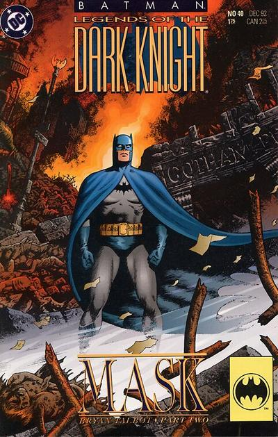 Cover for Batman: Legends of the Dark Knight (DC, 1992 series) #40