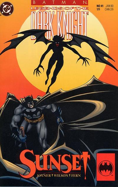 Cover for Batman: Legends of the Dark Knight (DC, 1992 series) #41